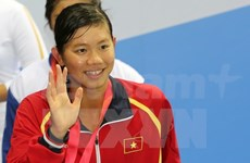 Swimmer Vien leaves SEA Games with eighth gold medals, seven records