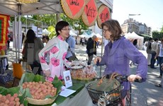 Vietnam lychee sells well in French market