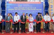 Vietnam AutoExpo 2015 opens in Hanoi