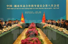 Vietnam, China cooperation steering committee holds 8th meeting