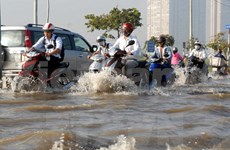 HCM City prepares for flood prevention projects