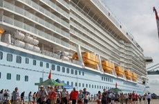 World-class cruise liner makes first visit to Vietnam