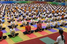 Vietnam celebrates first International Day of Yoga