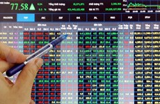 Blue chips drag down both bourses