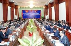 Vietnam, Laos intensify anti-crime efforts
