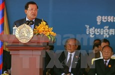 Cambodia's ruling party marks 64th founding anniversary