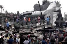 Indonesia identifies aircraft crash victims