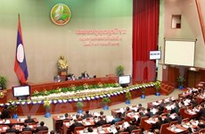 Lao National Assembly opens ninth session
