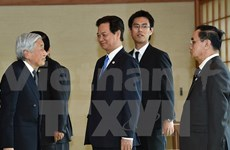 Prime Minister meets Japanese leaders