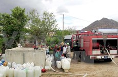 Ninh Thuan aids drought-affected areas