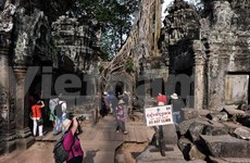 Cambodia welcomes 2 million foreign tourists