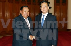Cabinet leader welcomes Lao Vice President