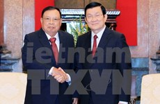 State President welcomes Lao guest