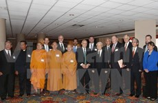 Party leader meets US religious dignitaries