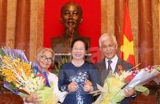 Vietnamese-French professor spouses awarded Friendship Orders