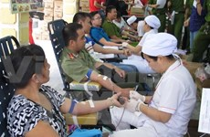Ho Chi Minh City boasts active blood donors