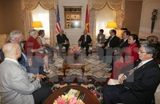 Party chief meets Chairman of Communist Party USA
