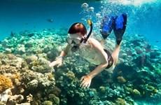 Pristine beaches, reefs entice tourists