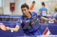 Eight nations compete at Golden Racket table tennis tourney