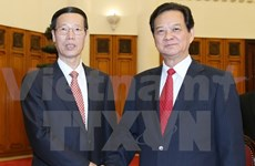 PM welcomes Chinese Vice Premier