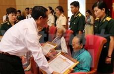 Ceremony honours war heroes, heroic Vietnamese mothers
