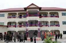 Vietnamese-funded project inaugurated in Cambodia