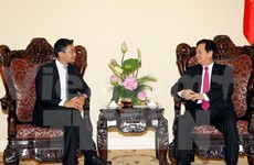 WEF Executive Director meets Vietnamese leaders