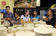 Made-in-Vietnam goods dominate Hanoi market
