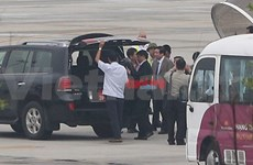 Defence Minister Phung Quang Thanh returns home
