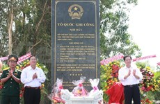 PM attends war memorial stele erecting ceremony