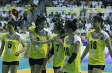 Vietnam win second match at VTV Int'l Volleyball Cup