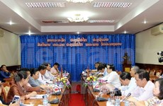 Vietnam, Lao Party commissions boost ties