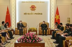 Deputy Minister of National Defence receives Chinese Ambassador