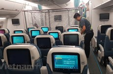 Inside special plane to repatriate Vietnamese from Equatorial Guinea