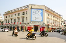 """Hanoi wears """"new coat"""" to welcome 13th National Party Congress"""