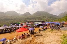 Can Cau market in Lao Cai province keeps unique local cultural features