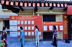 Voters nationwide cast ballots