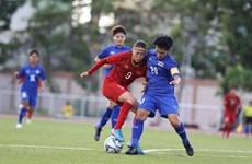 Vietnamese women's team draw with Thailand in SEA Games