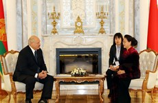 NA Chairwoman meets Belarusian President