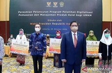 Indonesia holds online halal products' management training for MSMEs