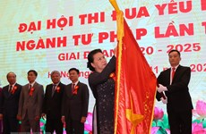 Top legislator attends justice sector's patriotic emulation congress