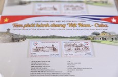 Joint stamp issue marks 60th anniversary of Vietnam-Cuba diplomatic ties