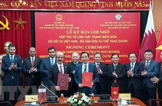 Vietnam, Qatar boost cooperation in building youth-related policies