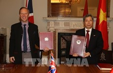 UK-Vietnam FTA to elevate bilateral strategic partnership: ambassador