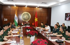 Vietnam, India strengthen defence ties