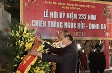 Prime Minister pays tribute to King Quang Trung