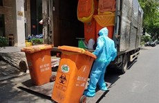 Ministry urges safe treatment of COVID-19-related waste