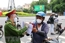 Ho Chi Minh City rolls out measures to control pandemic before September 15