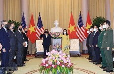 Vietnamese Vice President welcomes US counterpart