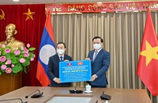 Capital cities of Vietnam, Laos foster multi-faceted cooperation